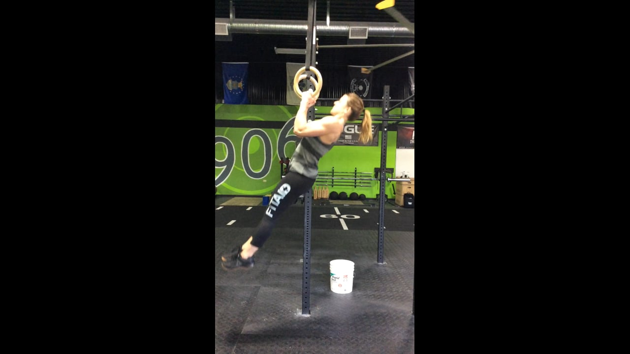 First Strict Muscle up
