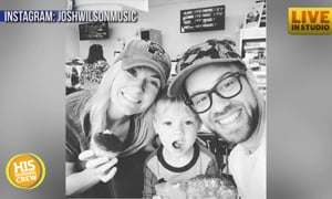 Josh Wilson's Son Loves Donuts, Spa Treatments and Music