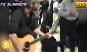 Josh Wilson Pulls Out His Guitar at Random Moments