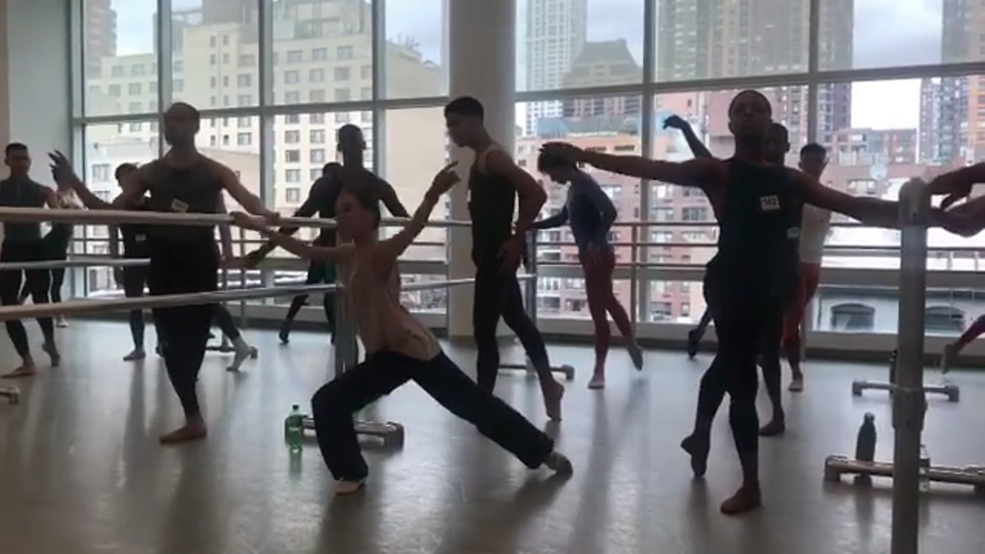 TEACHING ALVIN AILEY AUDITIONS