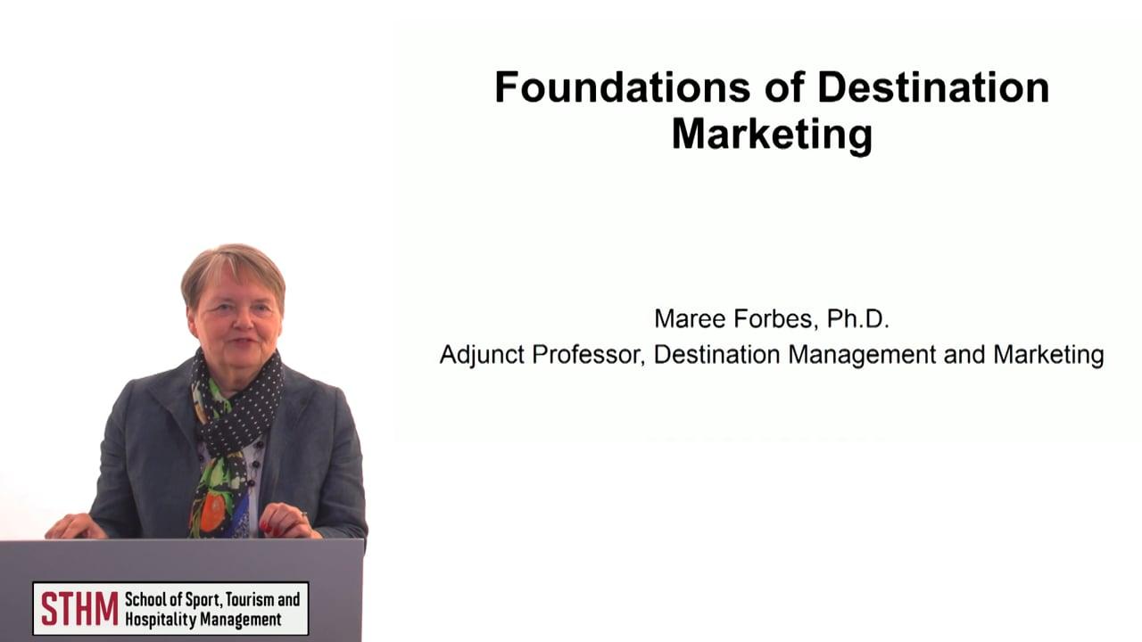 60621Foundations of Destination Marketing