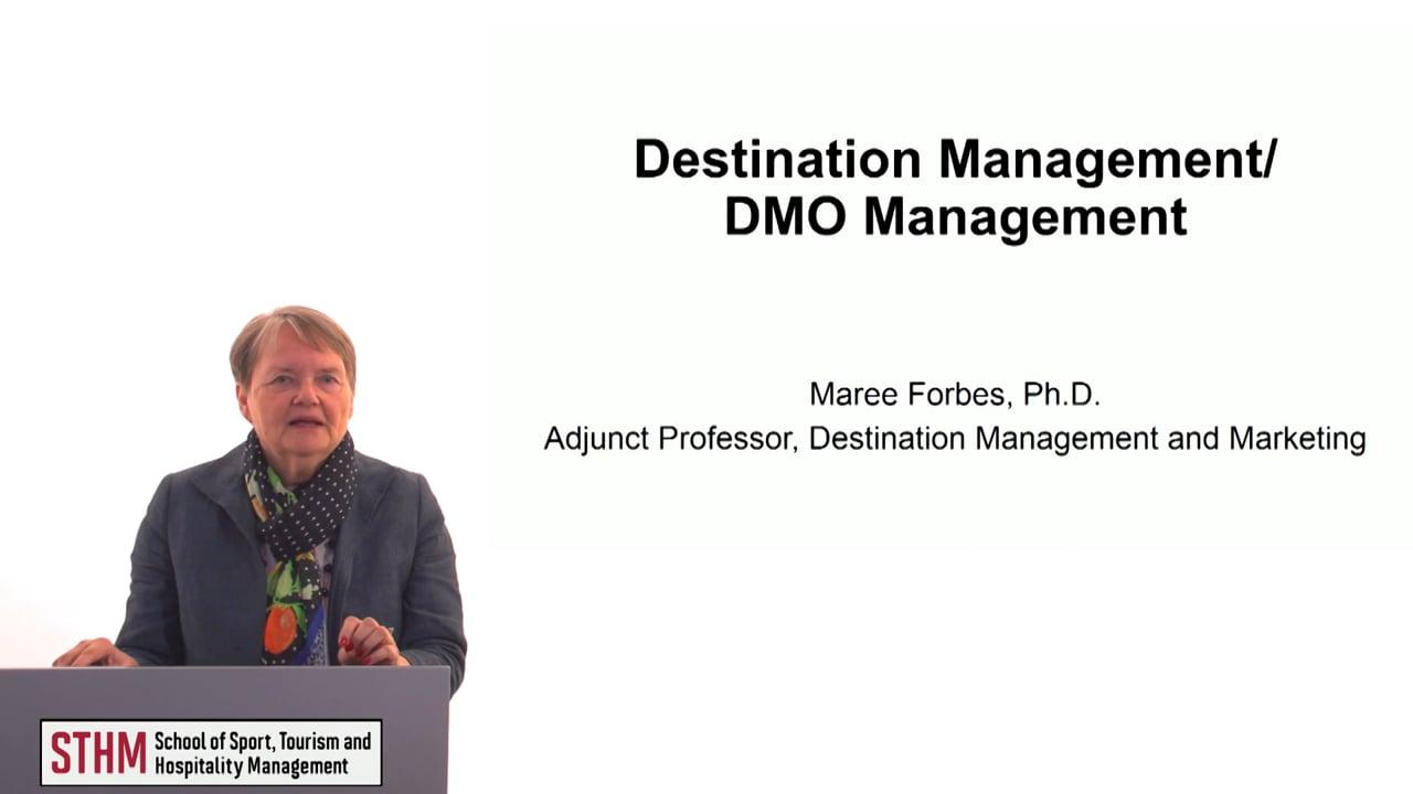 60619Destination Management- DMO Management