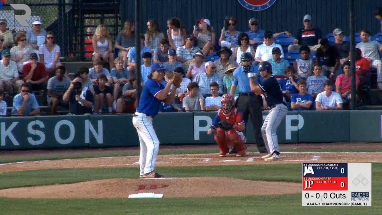 Varsity Baseball-2018-May-15-Jackson Prep (AAAA-1 Championship Game 1)
