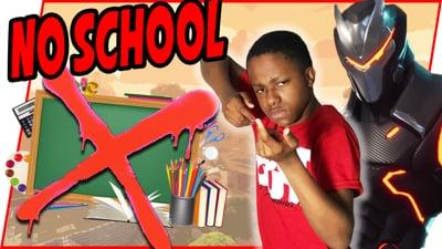 Ninja Stream - SKIPPING SCHOOL TO TAP CHEEKS!