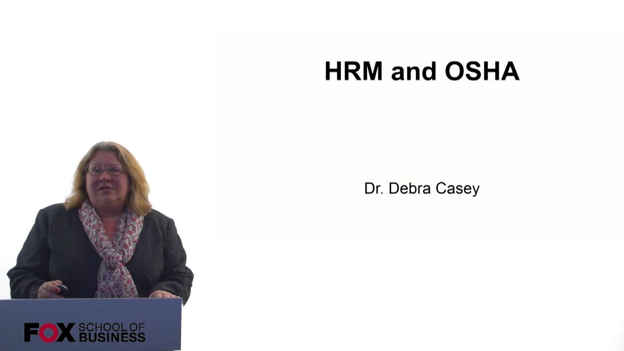 60703HRM and OSHA