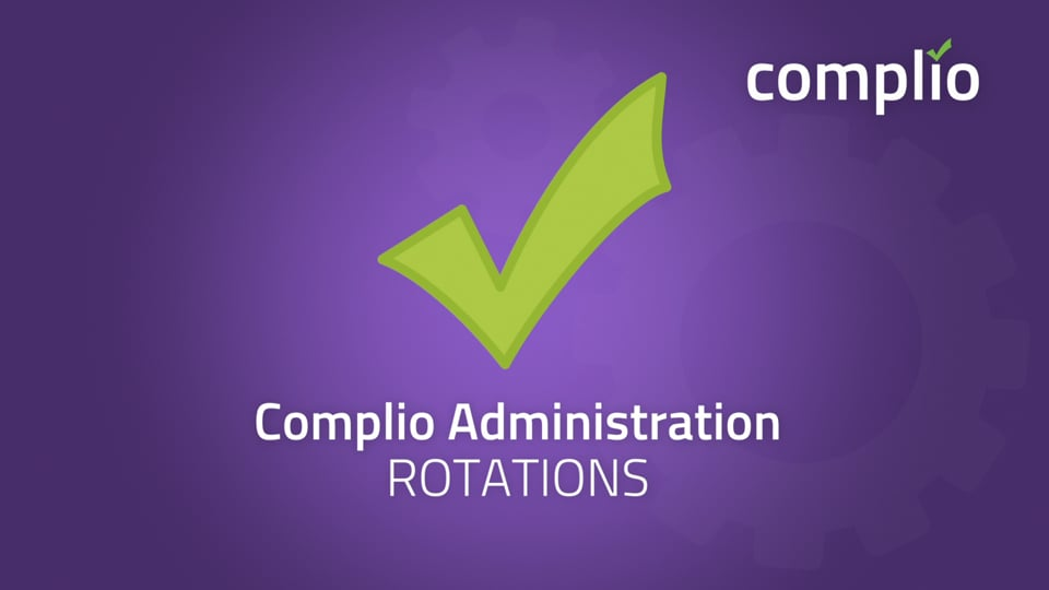 Rotations for Administrators