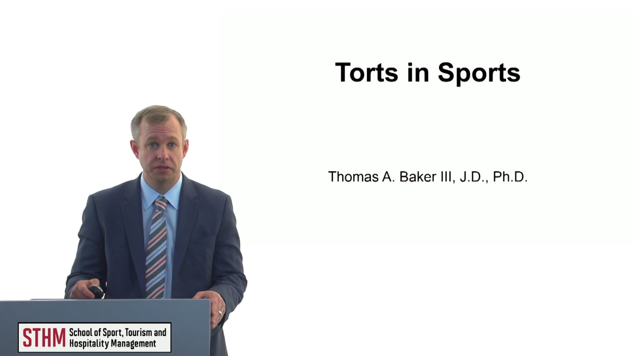 60667Torts in Sports
