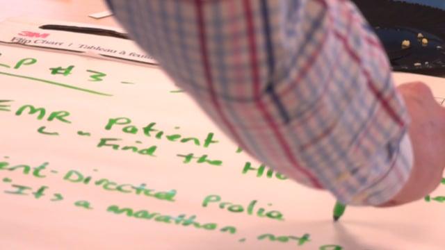 Healthcare workshop follow-up