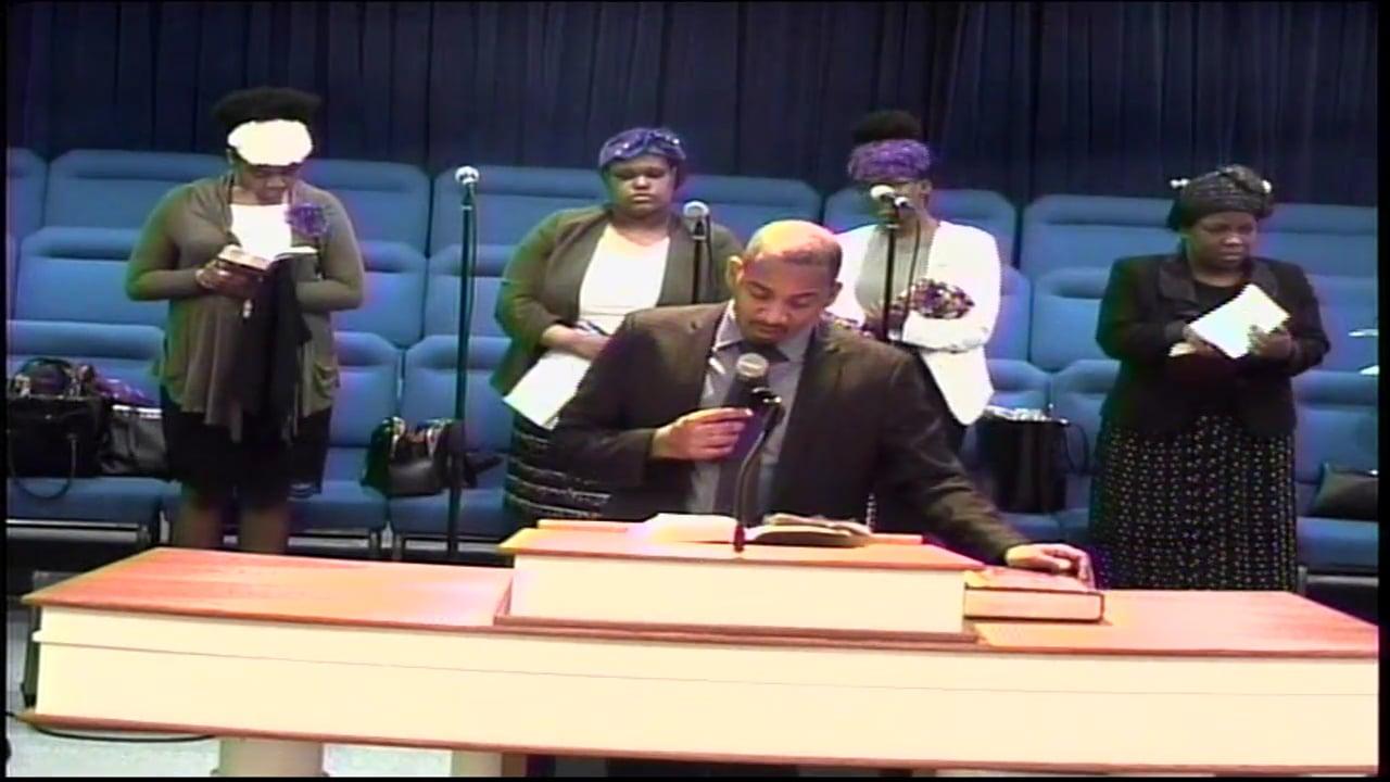 05-06-18, Minister Demoy Nash, Arise
