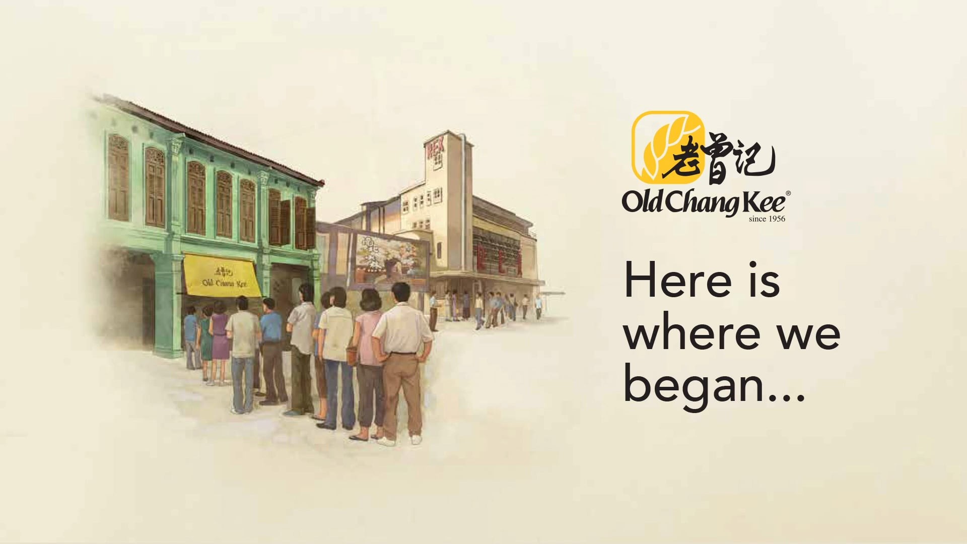 Old Chang Kee Coffee House   Here is where we began ...