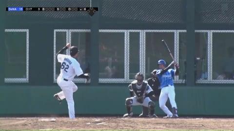 【ファーム】ルーキーのマリーンズ・永野 3球で三振を奪うナイスピッチング!! 2018/5/20 M-DB(ファーム)