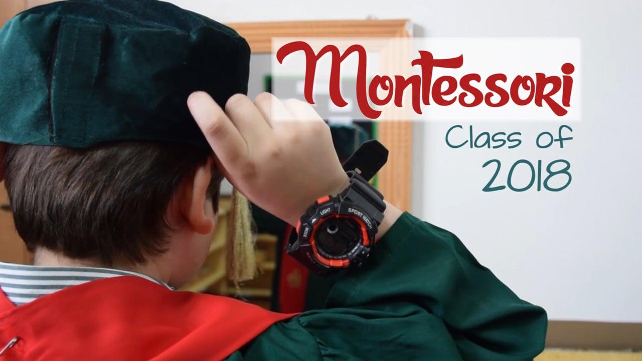 AIS Montessori Class of 2018 (F-8 Campus) - Montage