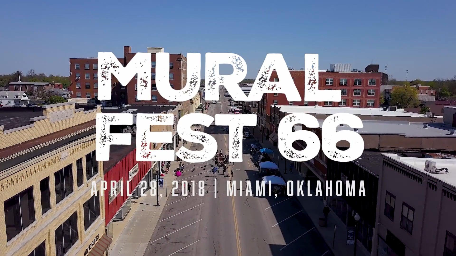 Mural Fest 2018   Miami, Oklahoma
