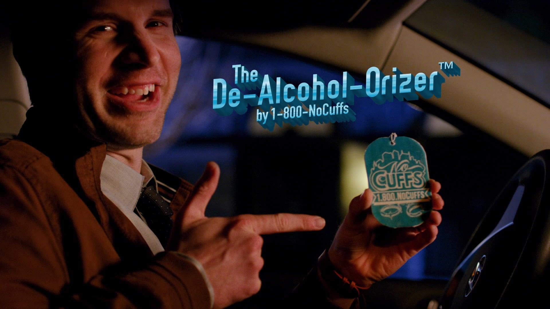 1-800-NoCuffs - The De-Alcohol-Orizer :60 TV