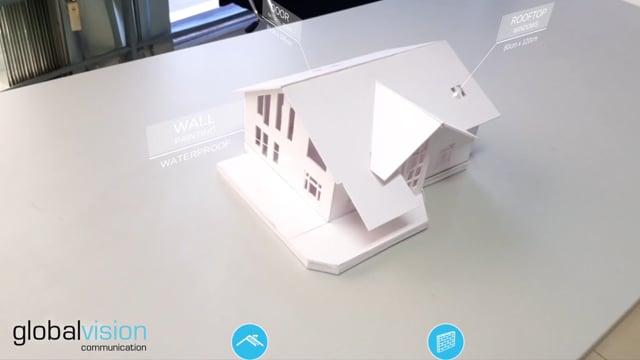Ứng dụng AR chọn thiết kế ngoại thất Villa