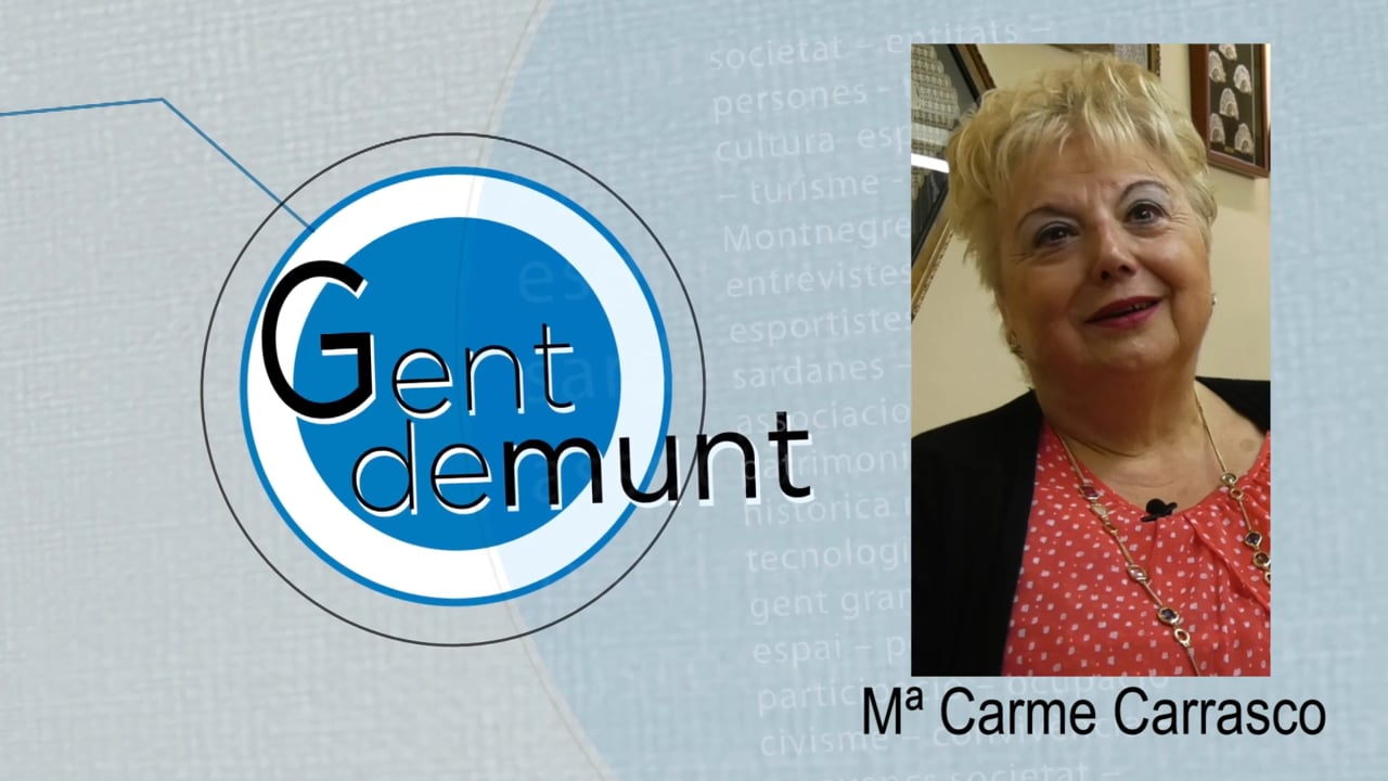 """Mª Carme Carrasco: """"Venen puntaires d'altres poblacions per aprendre la Punta d'Arenys de Munt"""""""