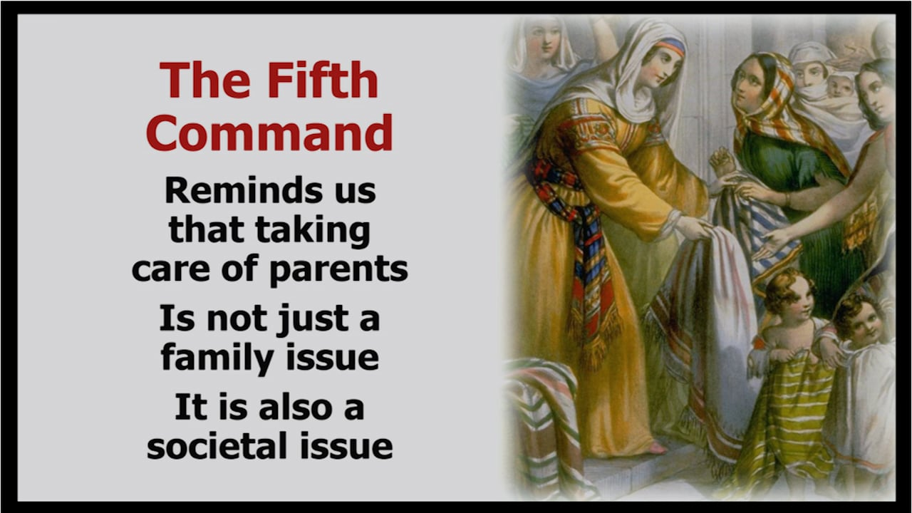 5th Commandment: Honoring Mother & Father