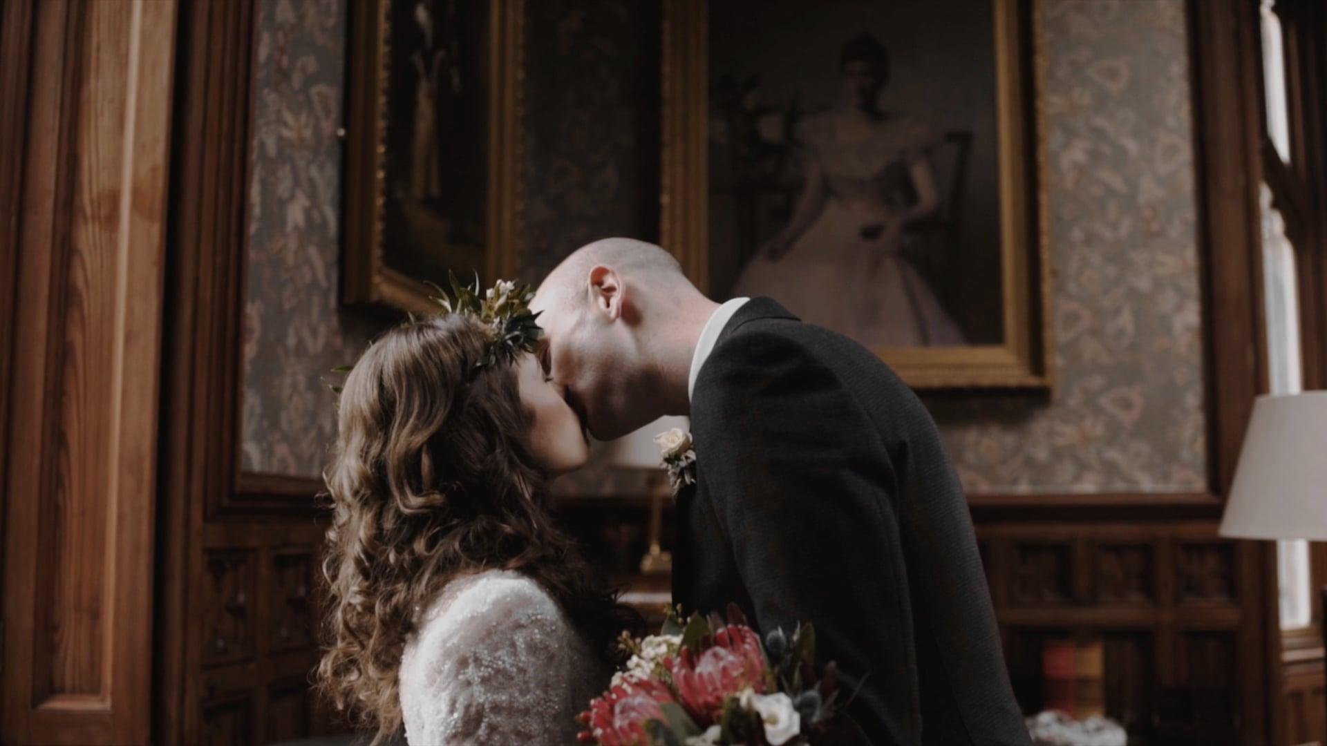 Short Wedding Film of Annmarie and Aidan // Markree Castle // Sligo
