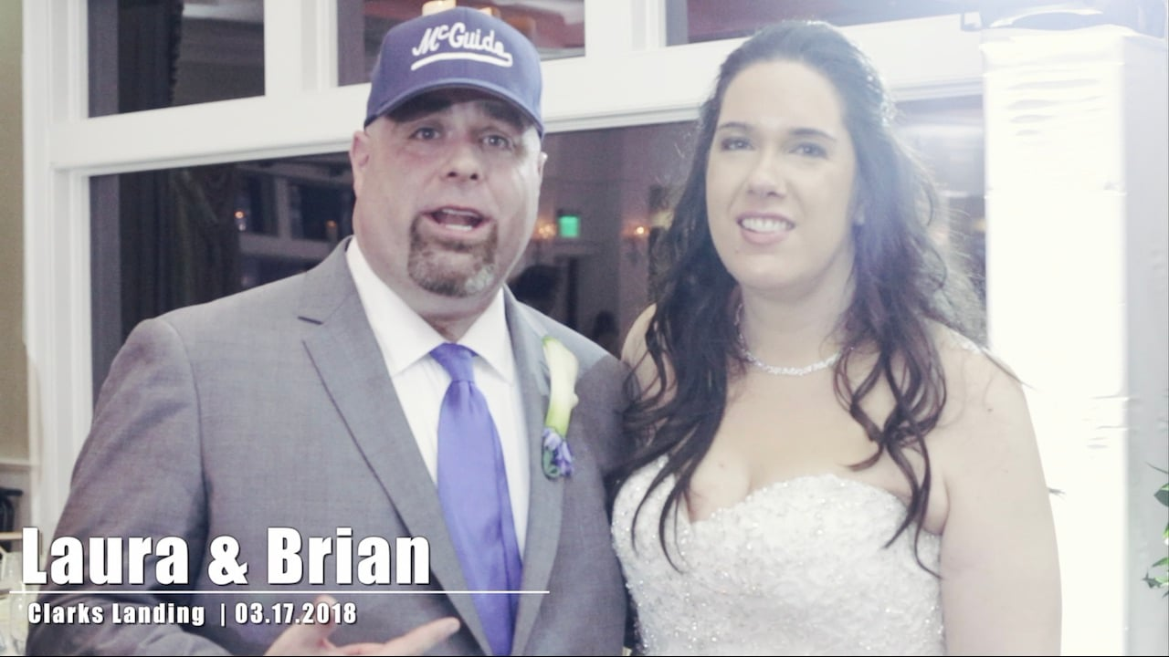 Real Weddings - Laura & Brian at Clarks Landing - Tony Tee Neto - SCE Event Group