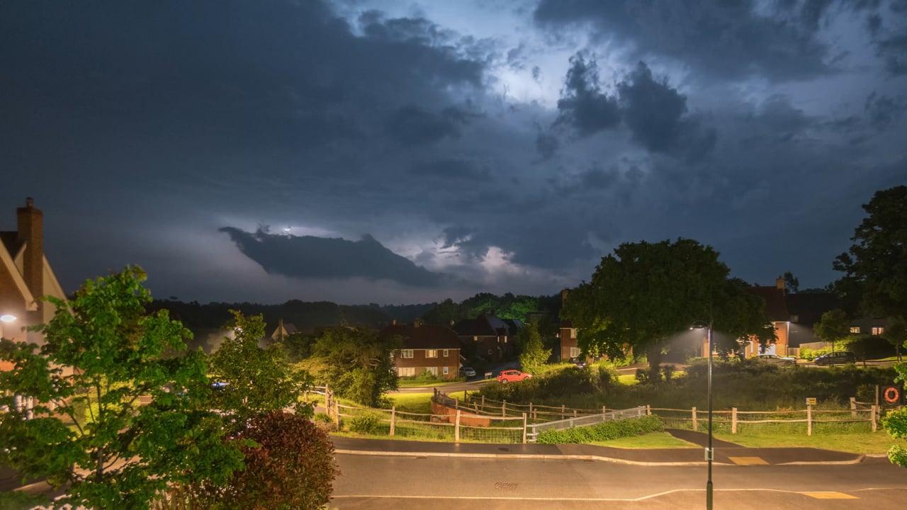 Lightning Over Sussex