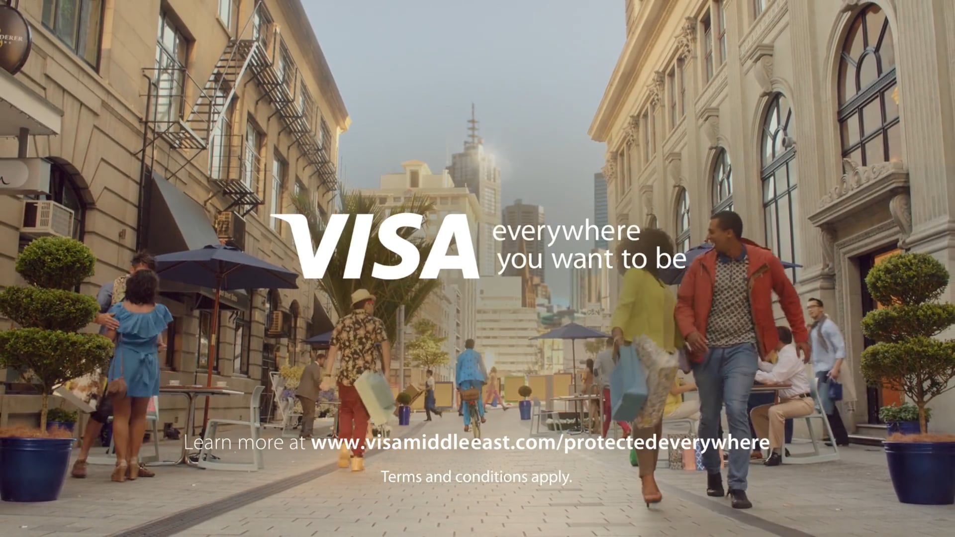 VISA - Pay with Confidence campaign