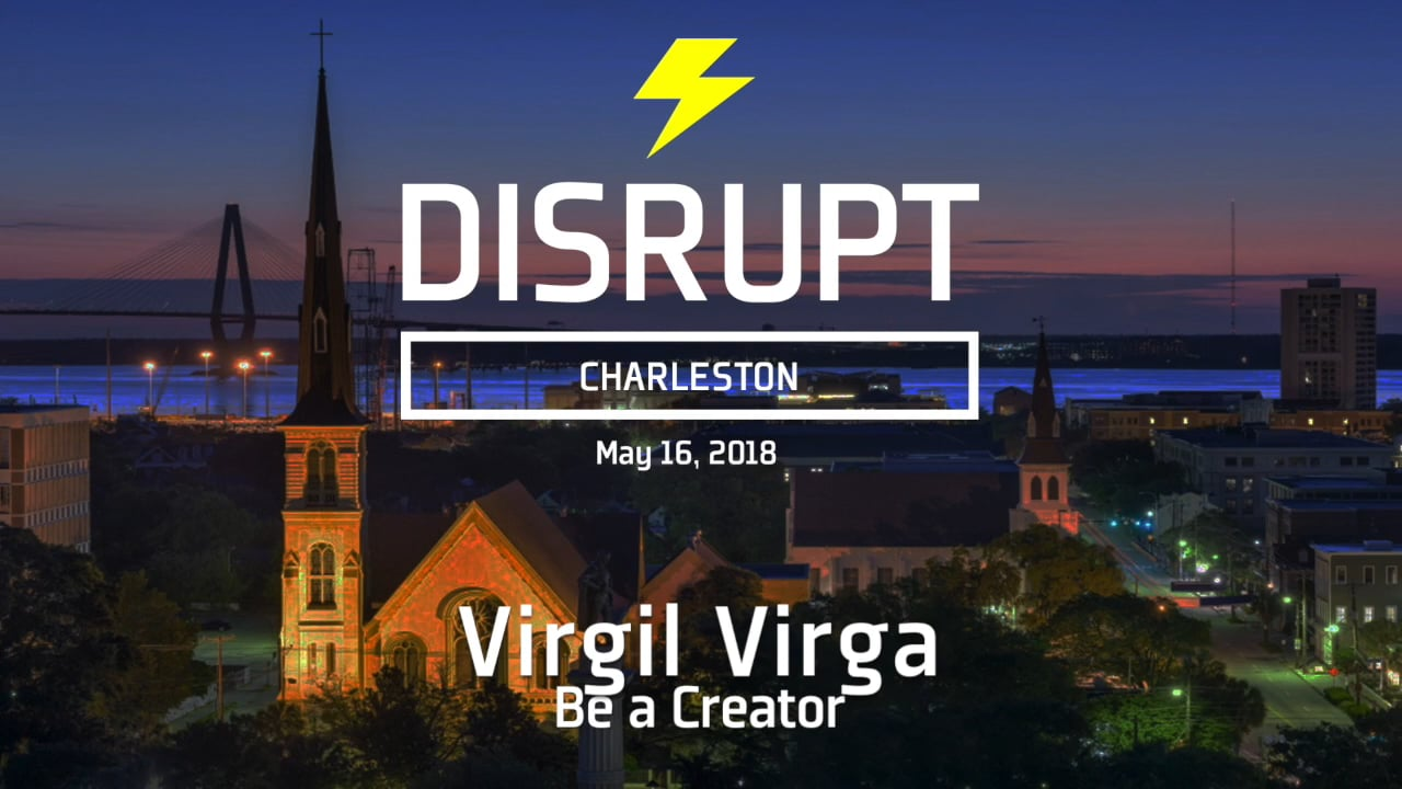 Be A Creator | Virgil Virga | DisruptHR Talks
