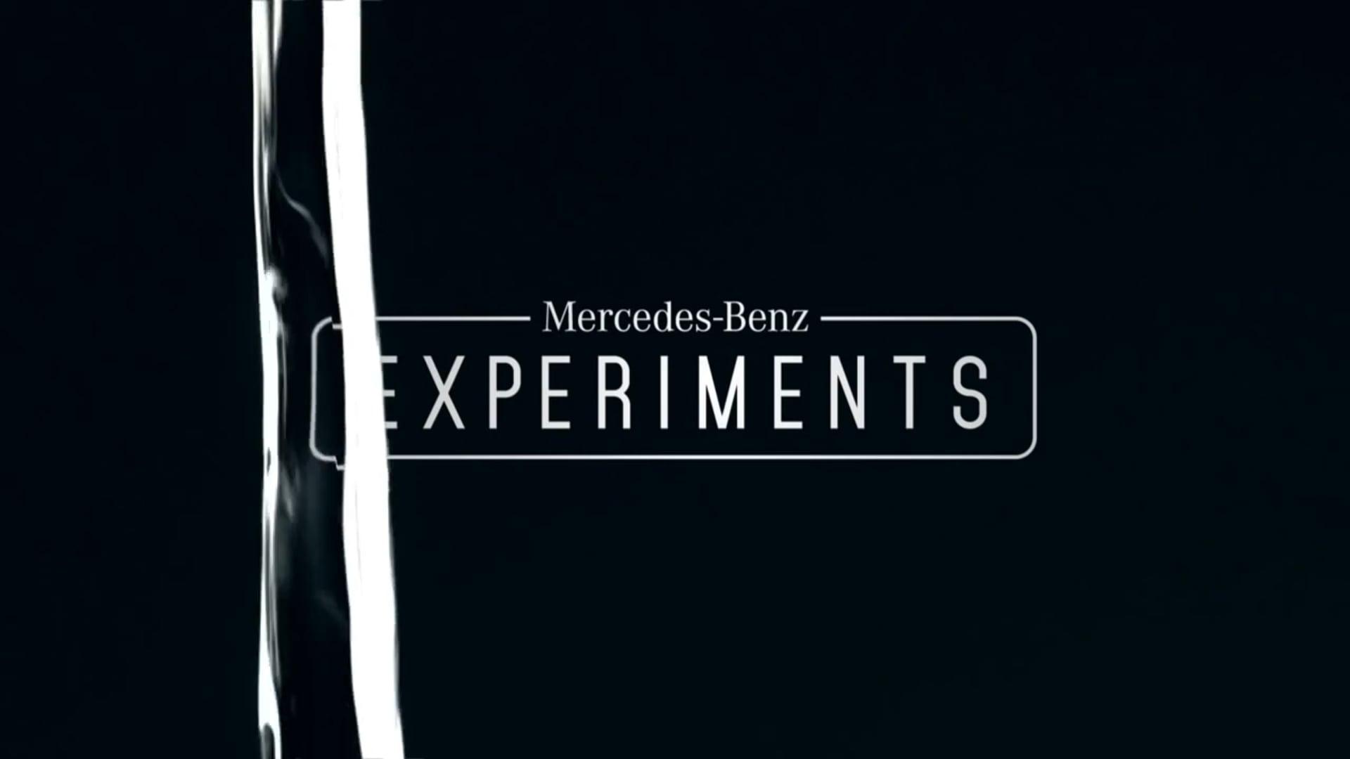 Mercedes-Benz - Experiments: Water