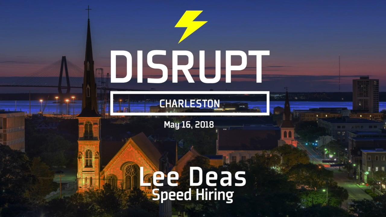 Speed Hiring | Lee Deas | DisruptHR Talks