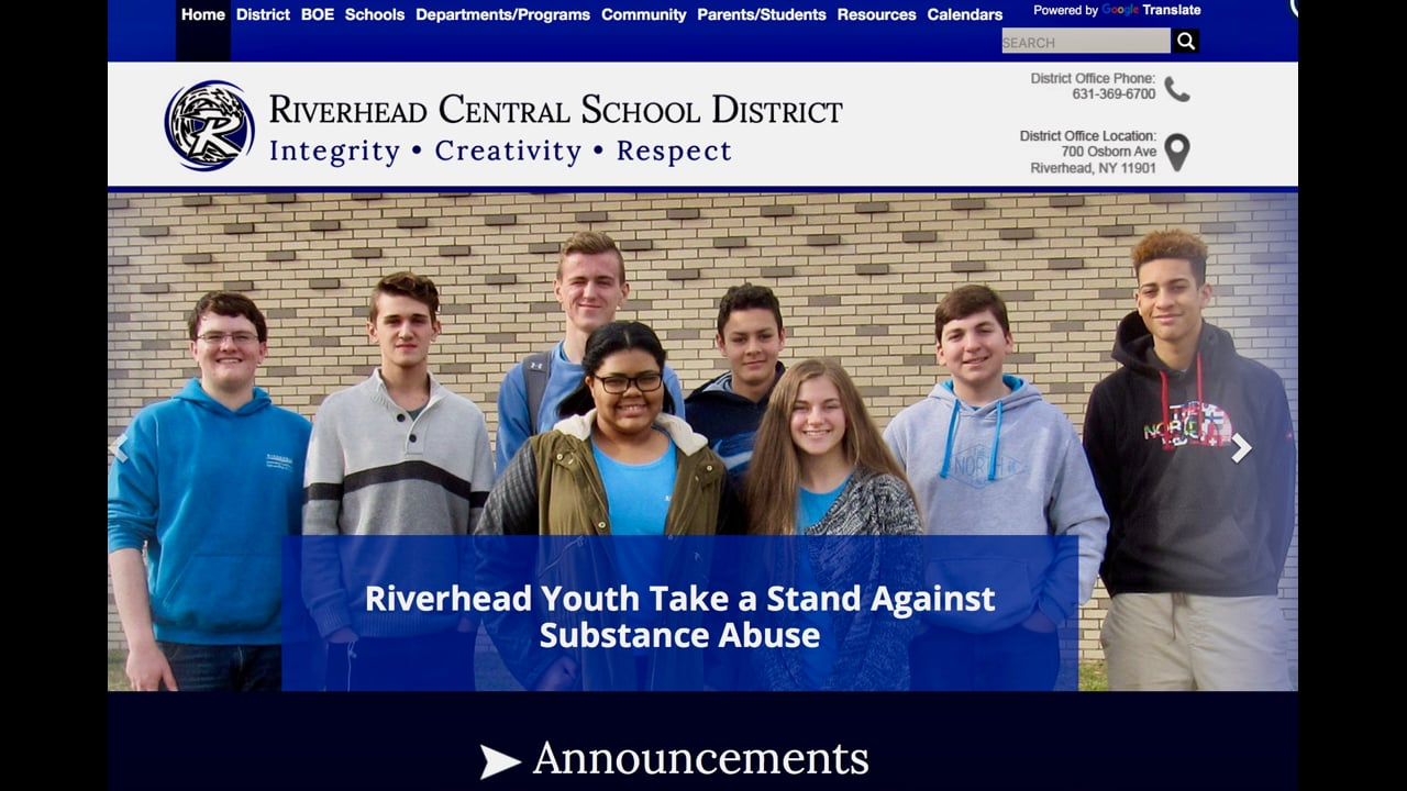 Riverhead Youth Coalition Recruitment Video 2018