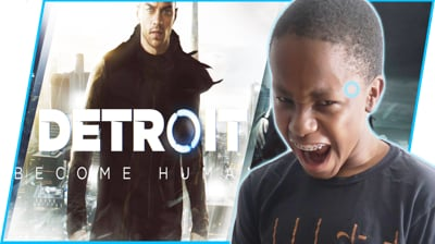 Ninja Stream - GETTING OWNED BY A CRACKHEAD (Detroit Playthrough Ep.1)