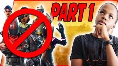 Ninja Stream - CAN I STILL PLAY GOOD WEARING NO SKINS?! Pt.1