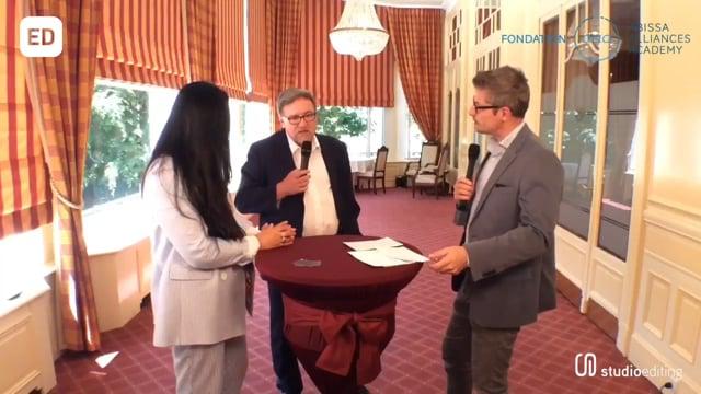 René Fell en direct de l'hotel Mirabeau de Lausanne