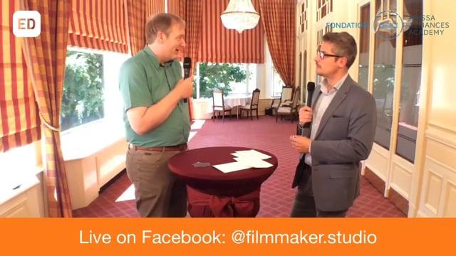 Albert Schot en direct de l'hotel Mirabeau de Lausanne