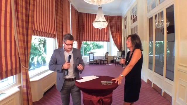 Valérie Wiedmer en direct de l'hotel Mirabeau de Lausanne