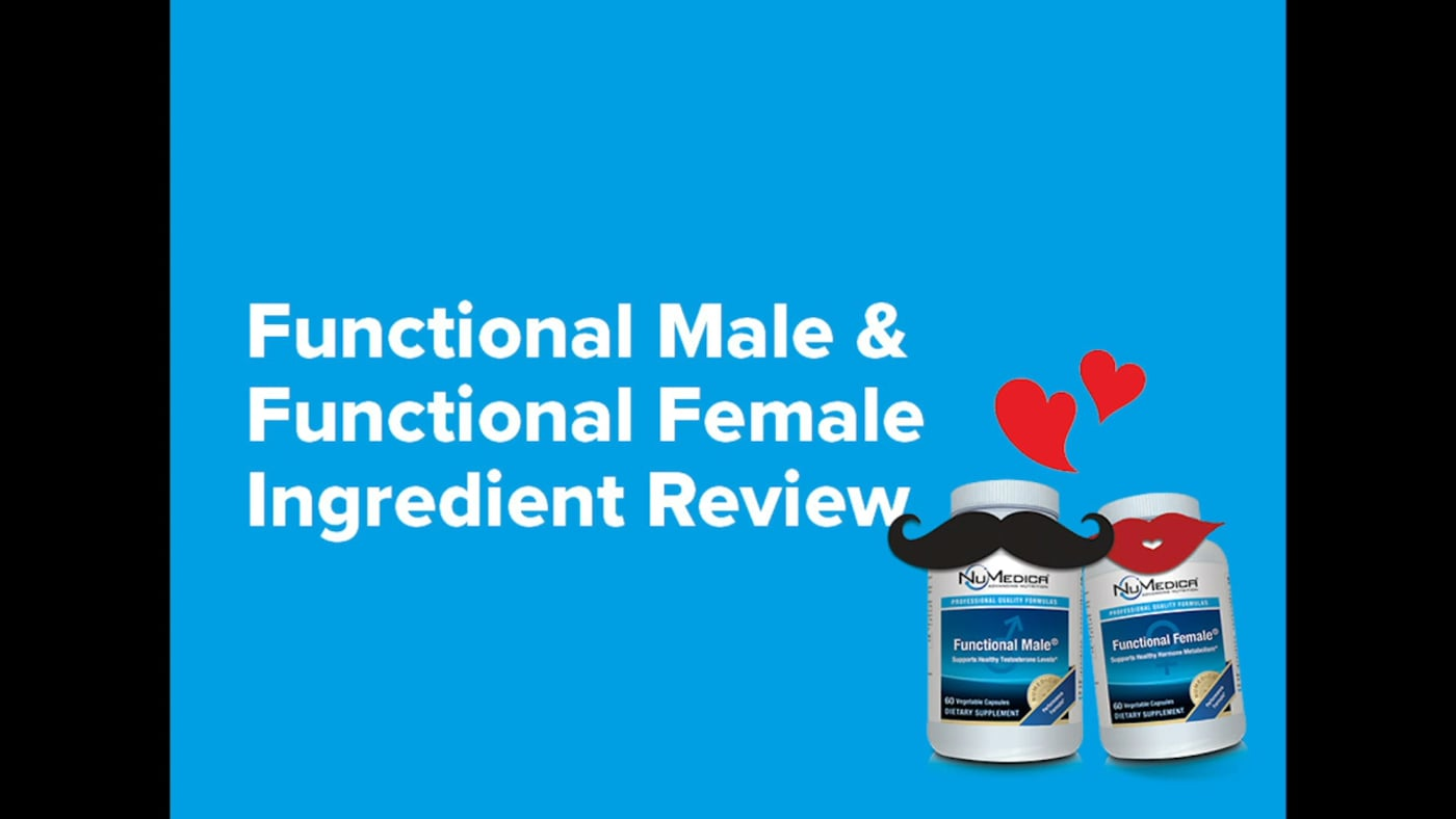 Functional Male and Functional Female Ingredient Review