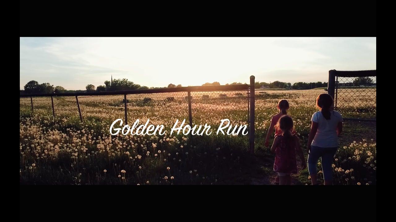 GOLDEN HOUR RUN