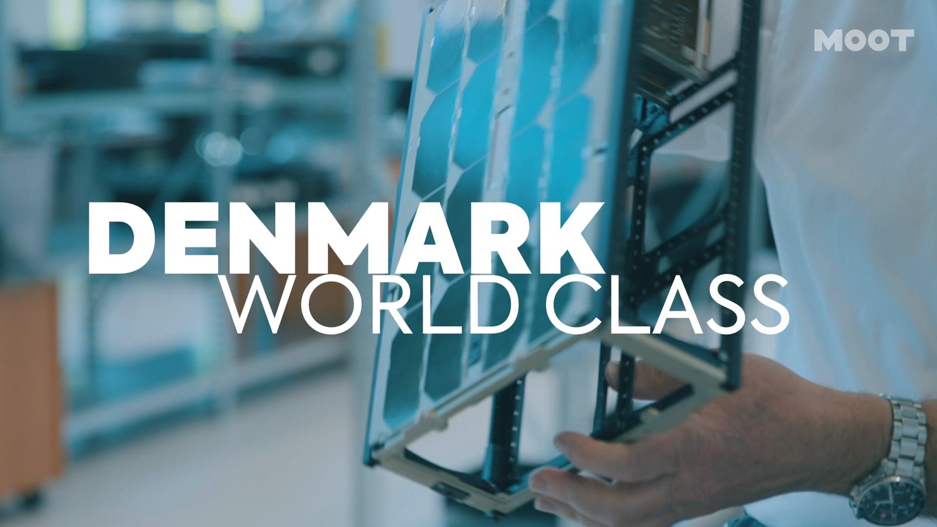 Denmark World-Class: Nano satellites in space