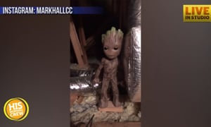 What Creepiness Did Mark Hall Discover in His Attic?