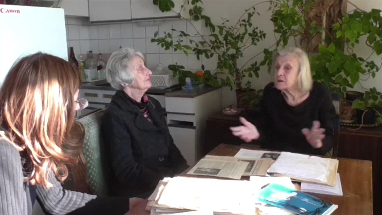 Penka Encheva in conversation with Galina Borissova, Angelina Georgieva, Elisaveta Grueva