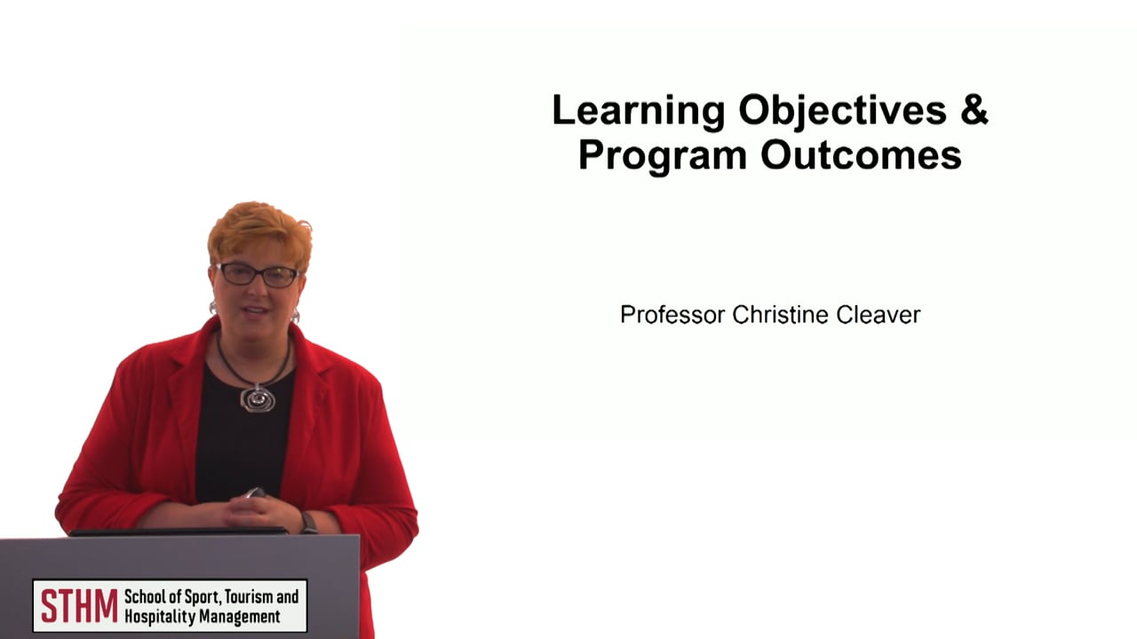 60640Learning Objectives & Program Outcomes