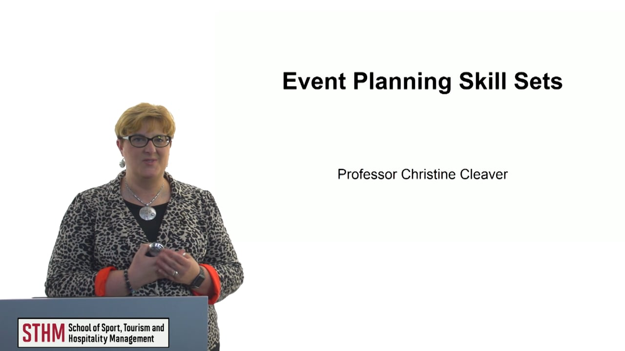60631Event Planning Skill Sets