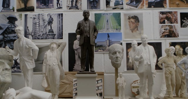 Martin Jennings - Sculpting in Bronze