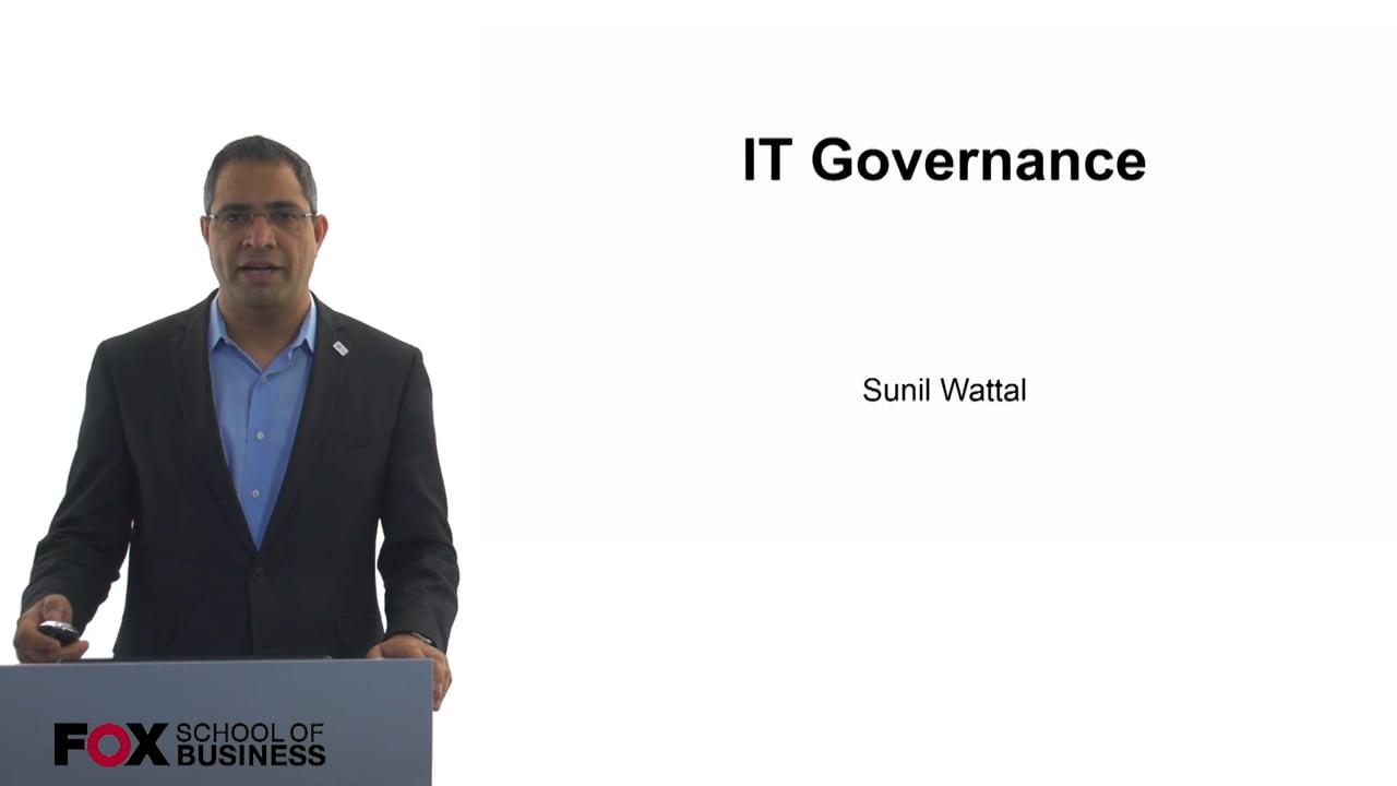 60630IT Governance