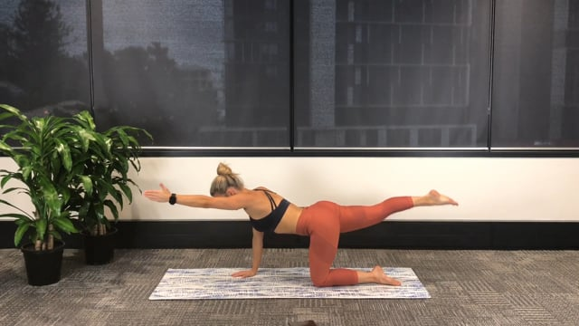 30min full body workout with glute and ab focus