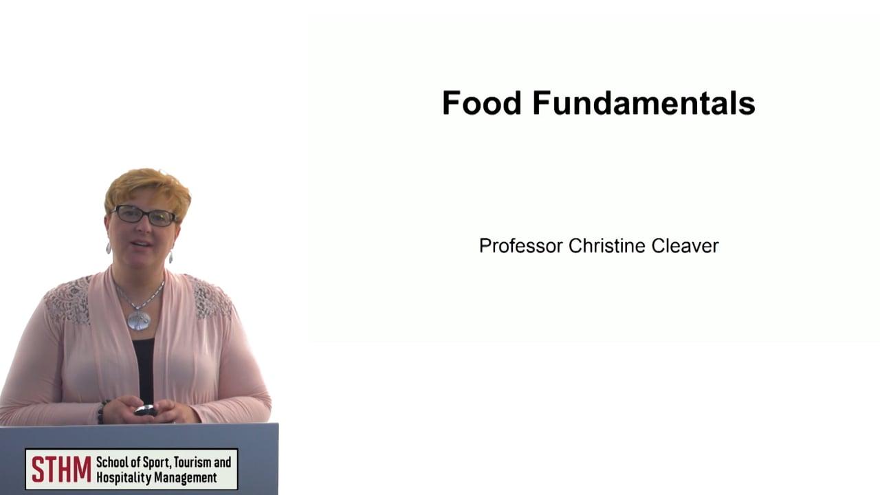 60675Food Fundamentals