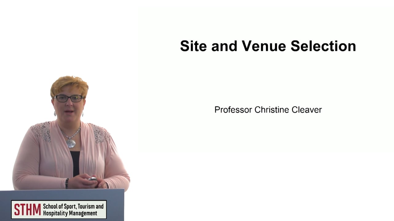 60670Site and Venue Selection
