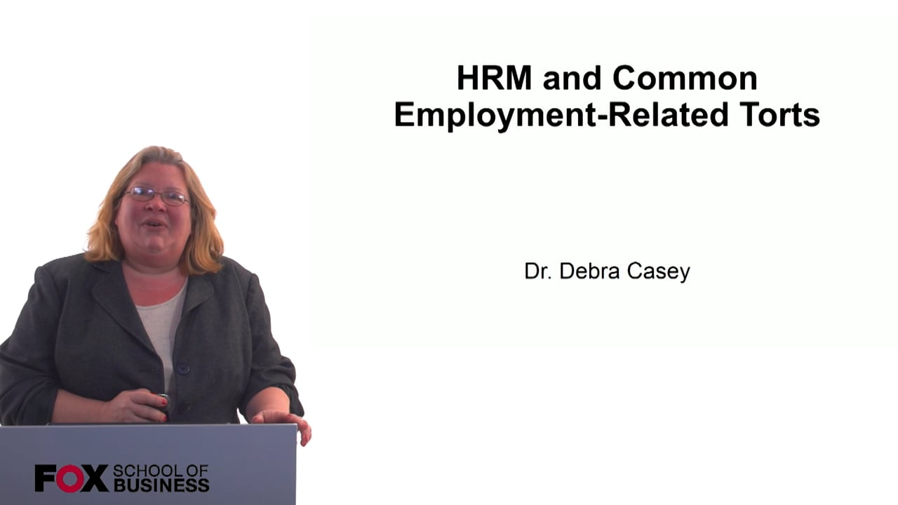 60695HRM and Common Employment-Related Torts