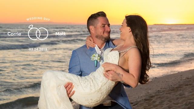 Corrie & Matt Wedding Intro