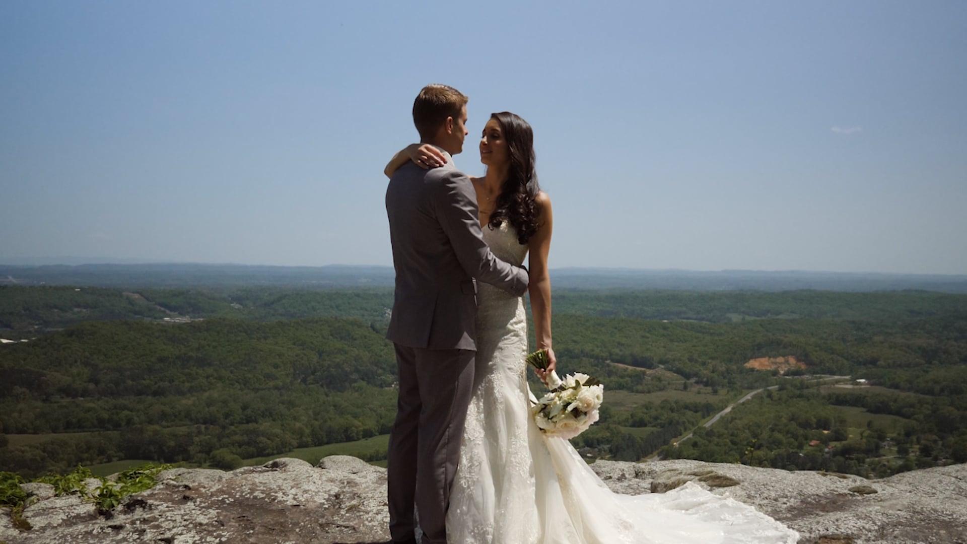 Austin & Emily Wedding Highlight   Grandview, Lookout Mountain, GA