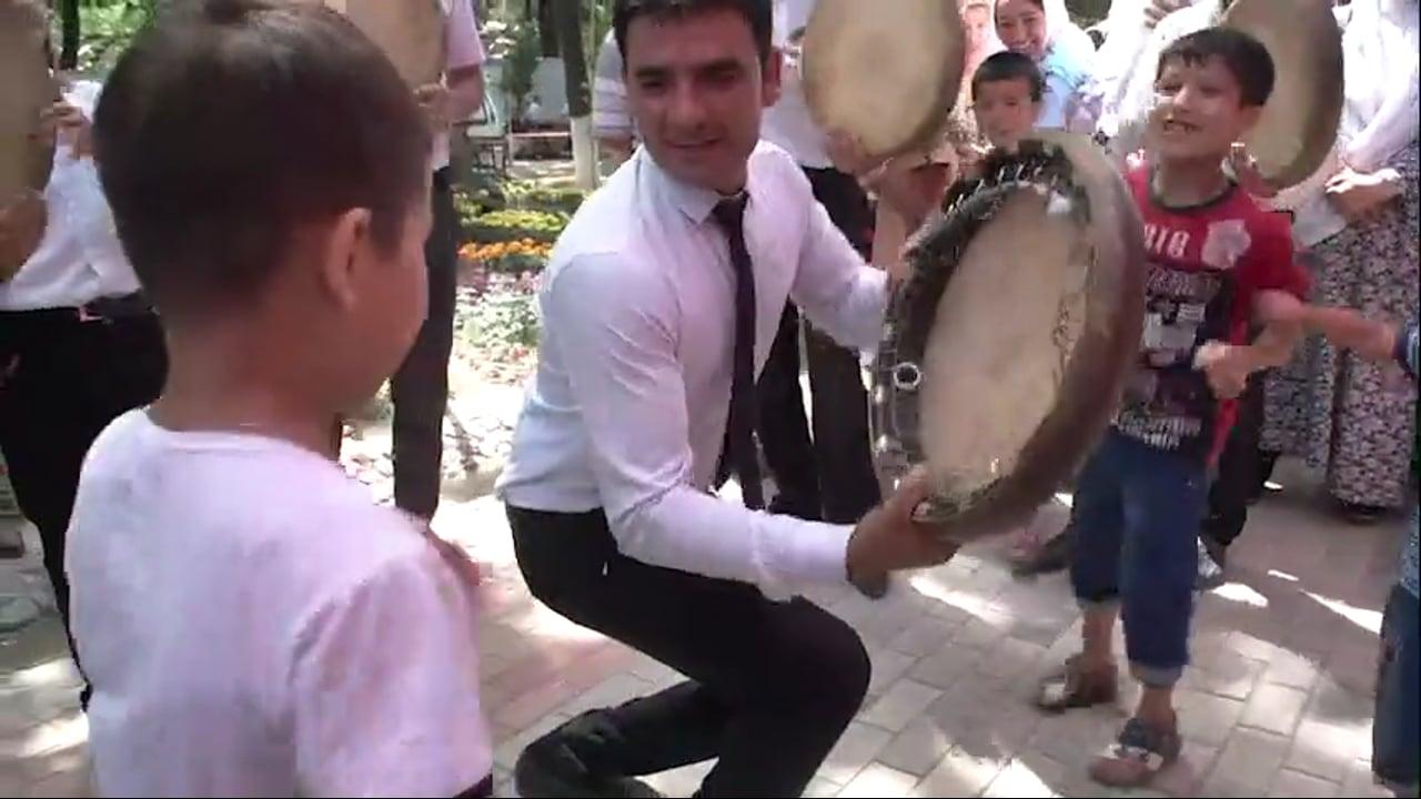 CGTN - NAMANGAN, UZBEKISTAN, JUNE 2018 - ANGREN-POP RAILWAY